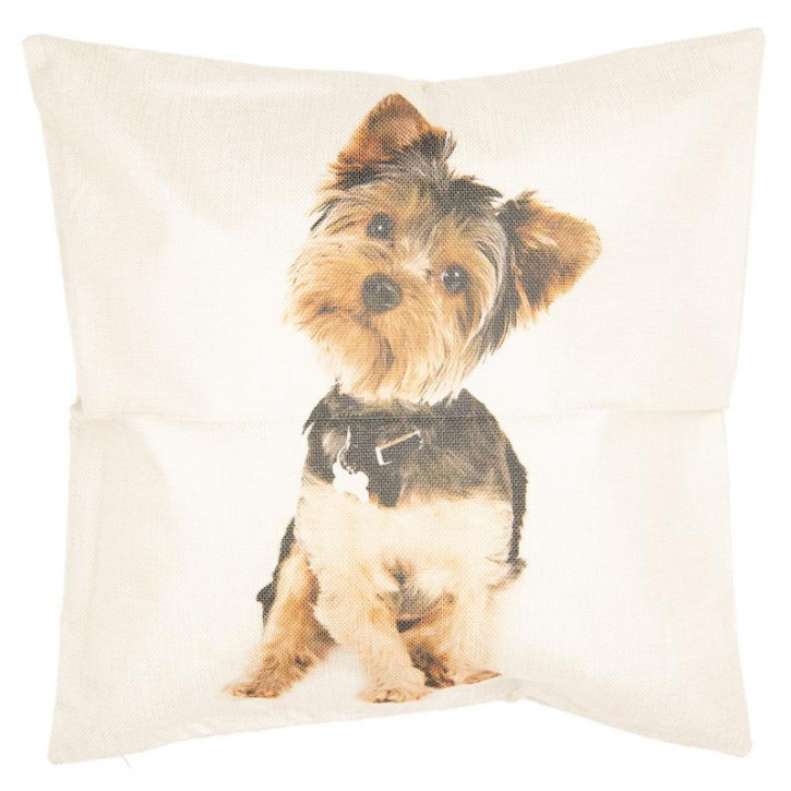 Kissenhülle Hund 43x43 cm