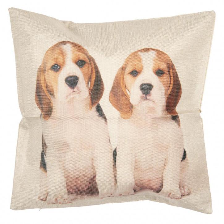 Kissenhülle Hunde 43x43 cm
