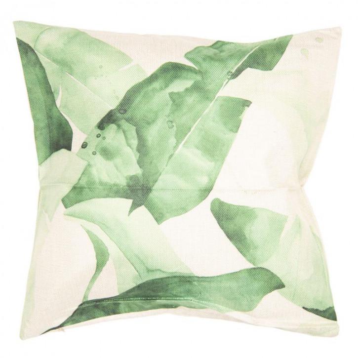 Kissenhülle Blätter 43x43 cm