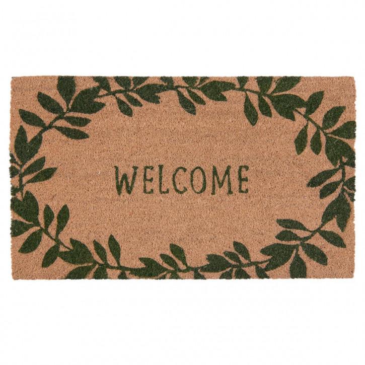"Türmatte ""Welcome"" 75x45x2 cm"