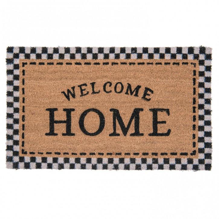 Türmatte Wellcome Home 75x45 cm