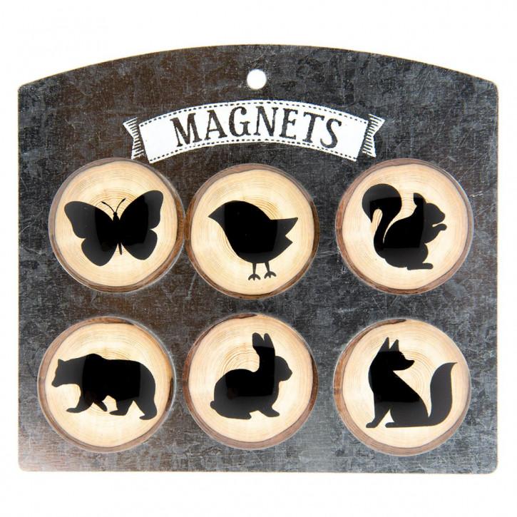 Magneet 13x11,5x1,3 cm