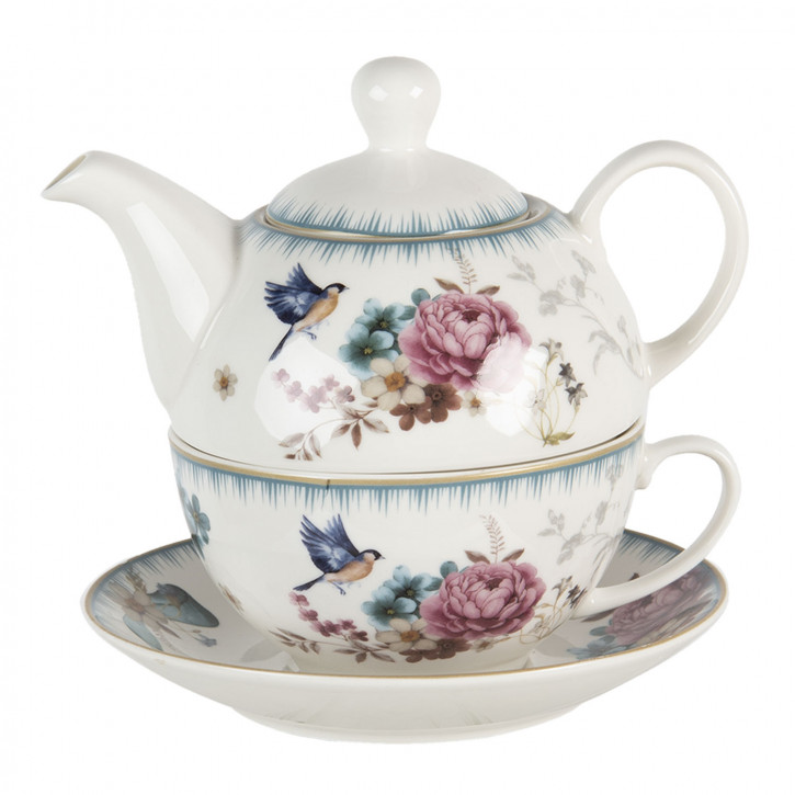 Tea for one set Ø16x15x15 cm / 460 ml