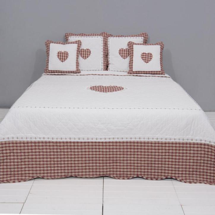 Bettüberwurf 230x260 cm