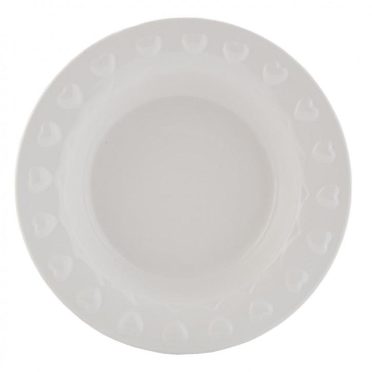 Suppenteller weiß ca. Ø 21 cm