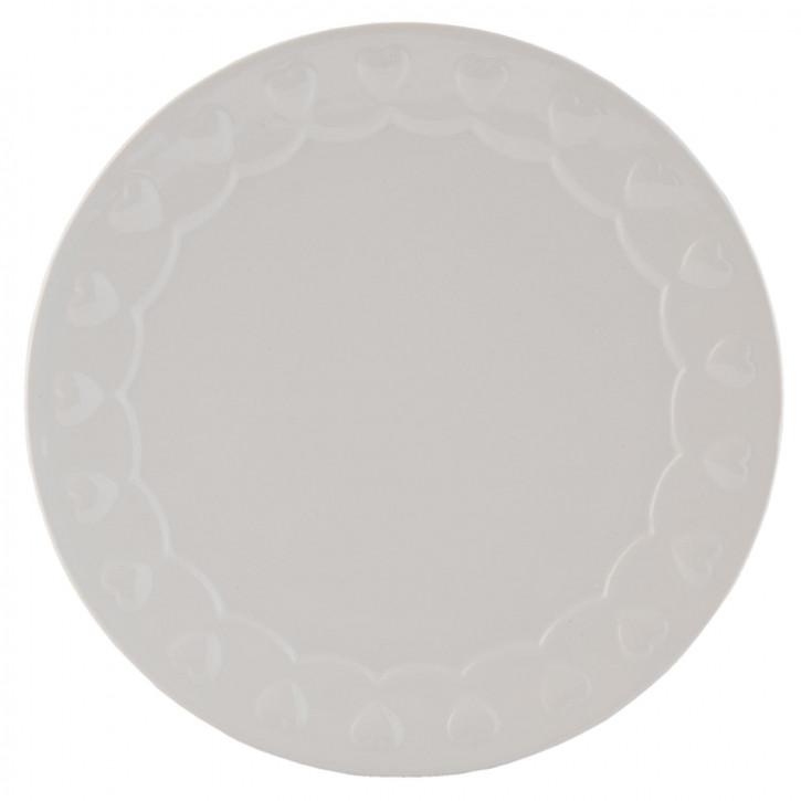 Kuchenteller weiß ca. Ø 21 cm