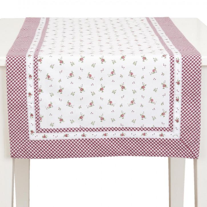 Tischläufer 50x140 Roses pour Louise