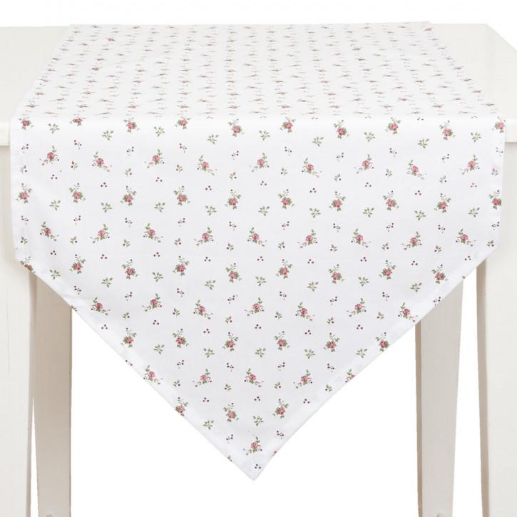 Tischläufer 50x160 Roses pour Louise