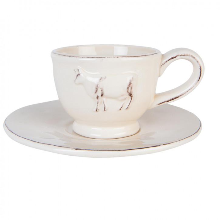 Kaffeetasse mit» Ø 15x7 cm / 0,2 L