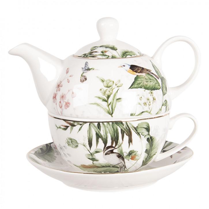 Tea for one set 16x15x14 cm / 460 ml