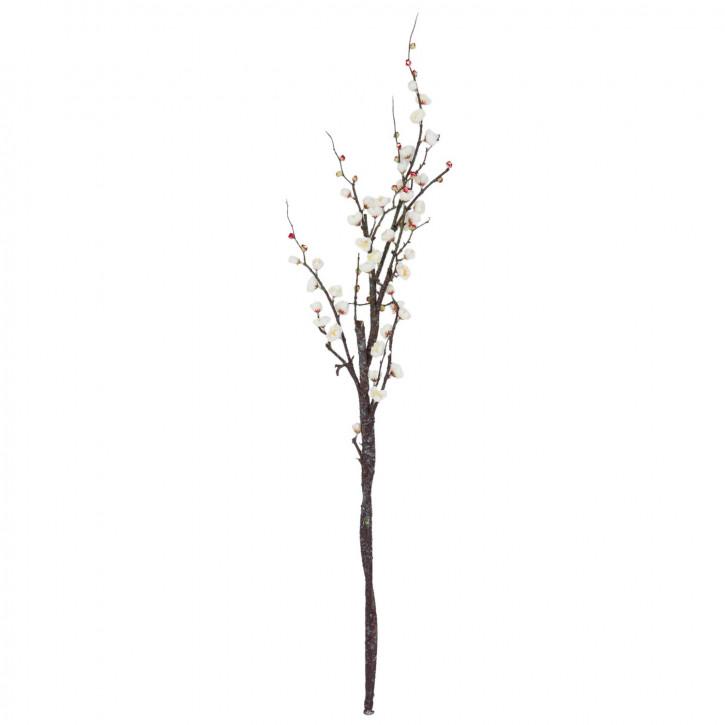 Japanische Kirschblüte Zweig weiß ca. 120 cm