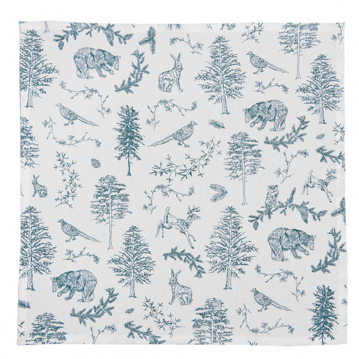 Servietten (6er Set) 40x40 cm Wild Forest