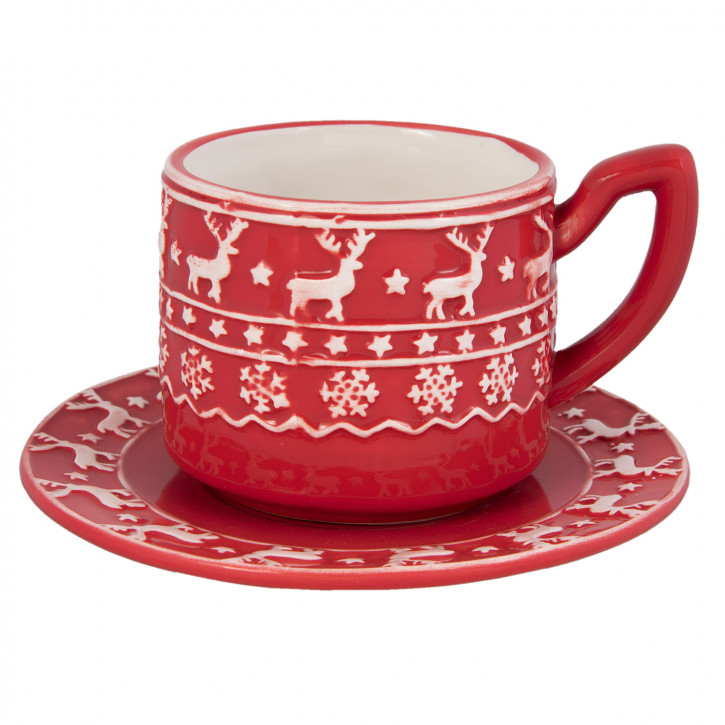 Kaffeetasse mit» Ø 15x10 cm