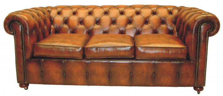 """Settee"" Chesterfield 3-Sitzer"
