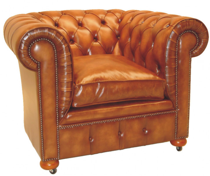 """Tub Chair"" Chesterfield Sessel"