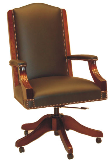 Chesterfield Drehstuhl - Diane Chair with Arms