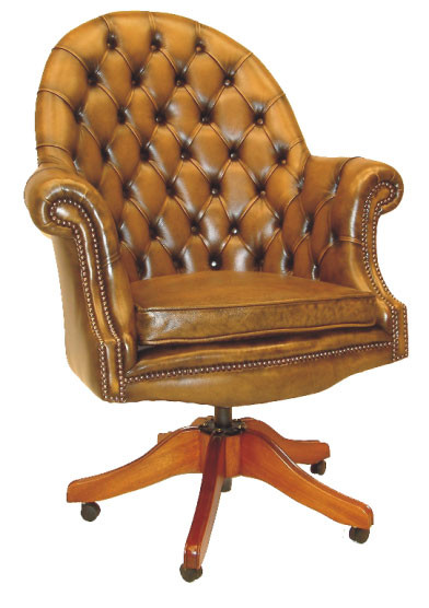 """Executive Chair"" Chesterfield Drehstuhl Bürostuhl"