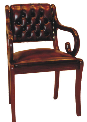 """Canterbury Carver Chair"" Chesterfield Bürostuhl Ledersessel"