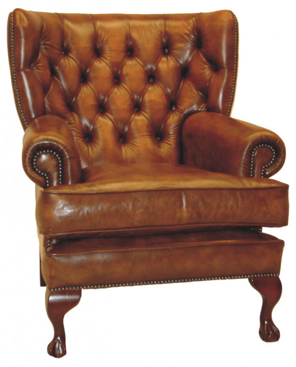 """Pamela Chair"" Chesterfield Sessel B/B"