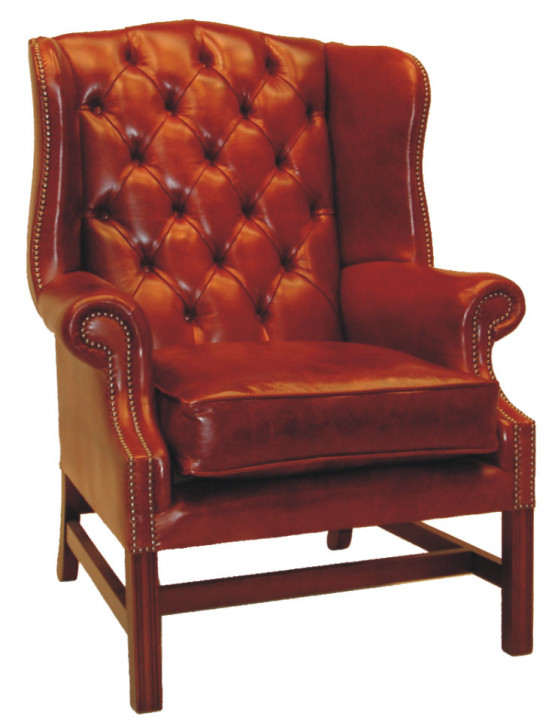 """Bedford Wing Chair"" Chesterfield Sessel"
