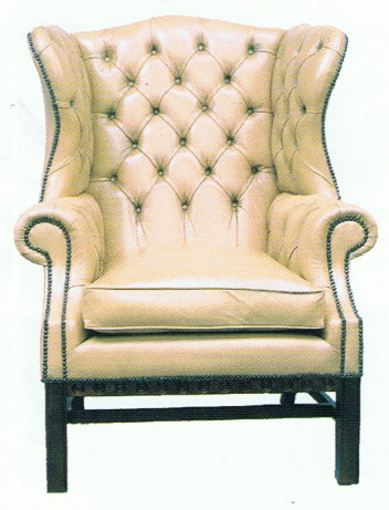 """Library Wing Chair"" Chesterfield Sessel"