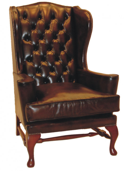 """Victoria Wing Chair"" Chesterfield Sessel"