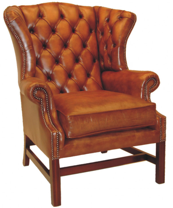 """Kensington Wing Chair"" Chesterfield Sessel"