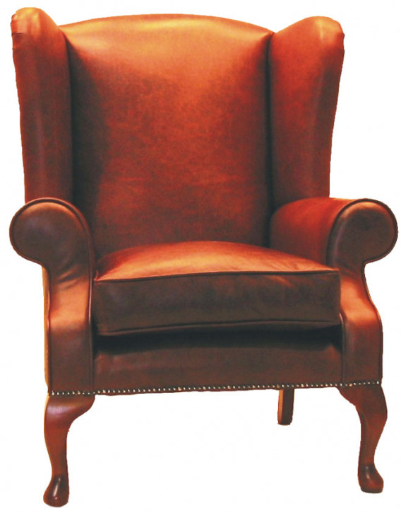 """London wing chair"" Chesterfield Sessel"