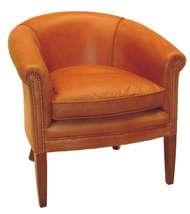 """Victorian plain club chair"" Chesterfield Sessel -"