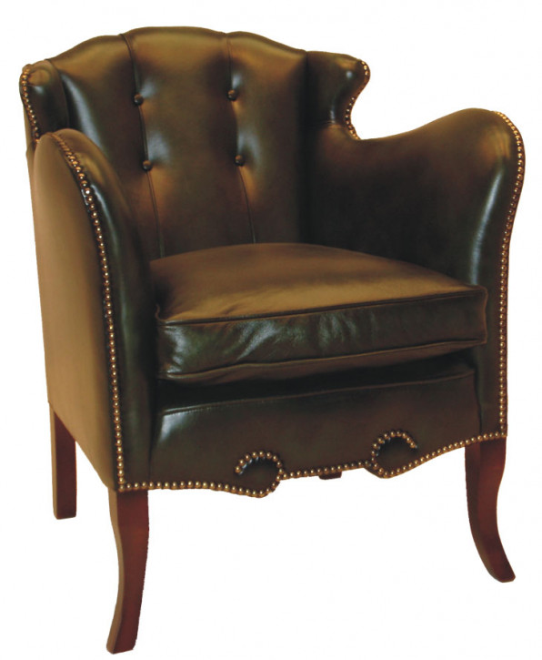 """Maragreta chair"" Chesterfield Sessel"