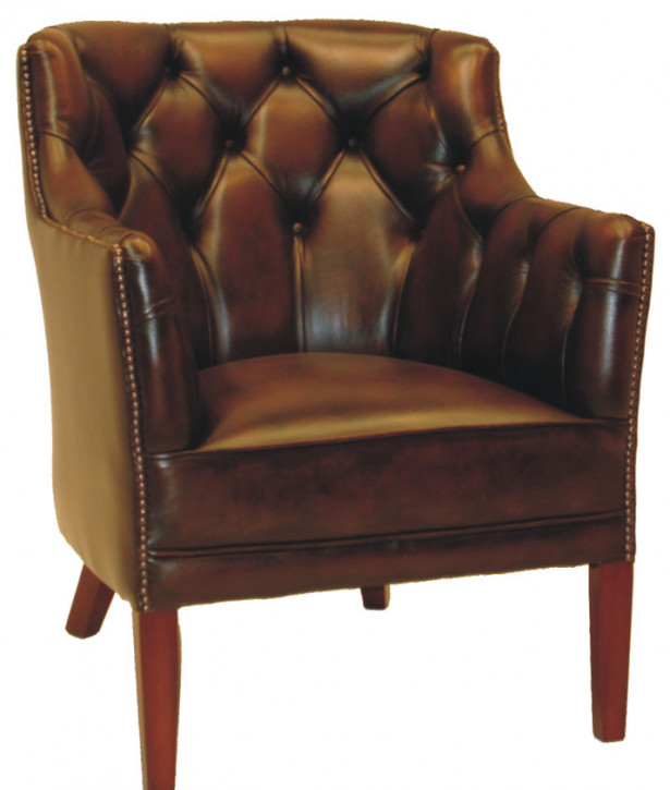 """Club Chair"" Chesterfield Sessel"