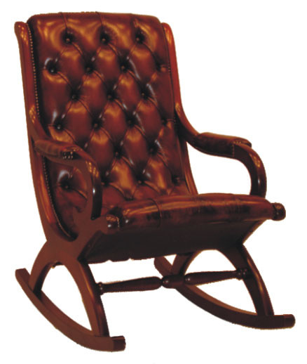 """Period Rocker"" Chesterfield Sessel"