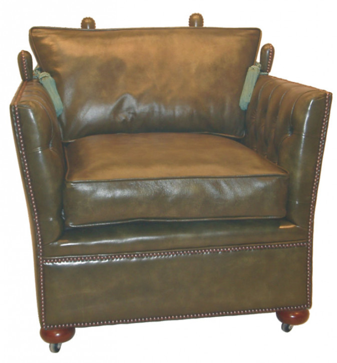 """Knoll Chair"" Chesterfield Sessel"