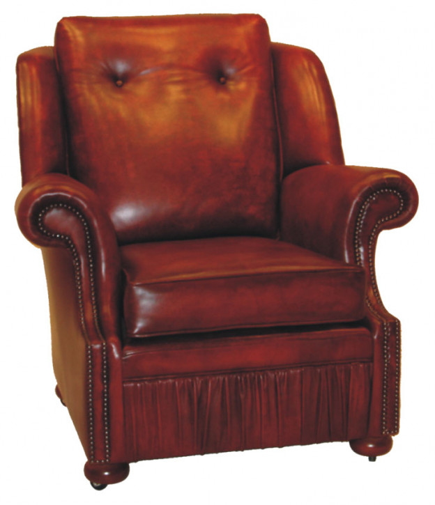 """""""Tub chair"""" Chesterfield Sessel"""