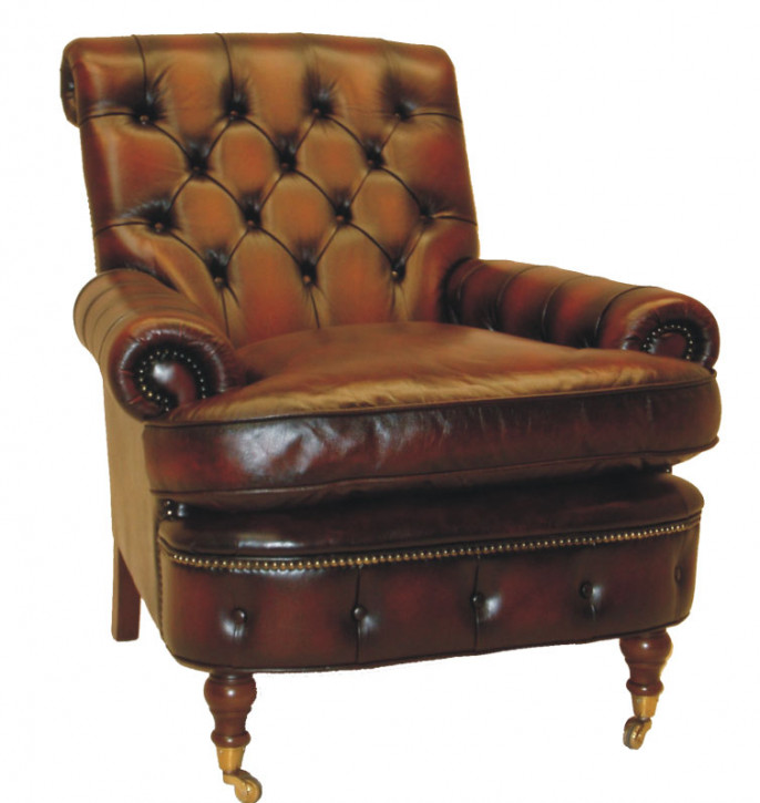 """Woburn chair"" Chesterfield Sessel"