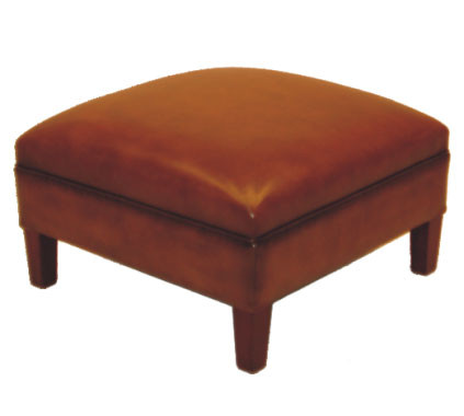 """Manor stool"" Chesterfield Hocker"