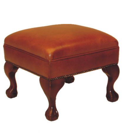 """Pemela stool"" Chesterfield Hocker"