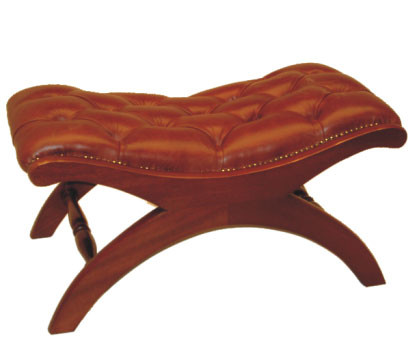 """Period Stool"" Chesterfield Hocker"
