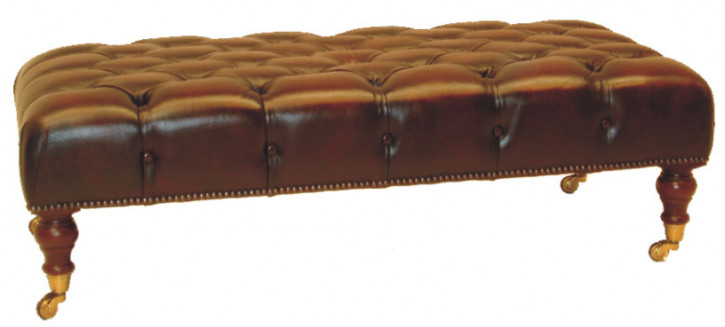 """Victorian stool"" Chesterfield Hocker"
