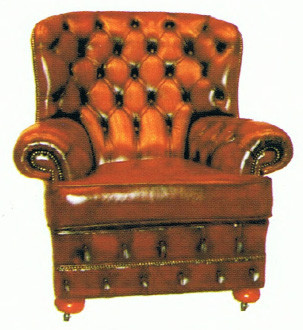 """Balmoral Tub Chair"" Chesterfield Sessel"