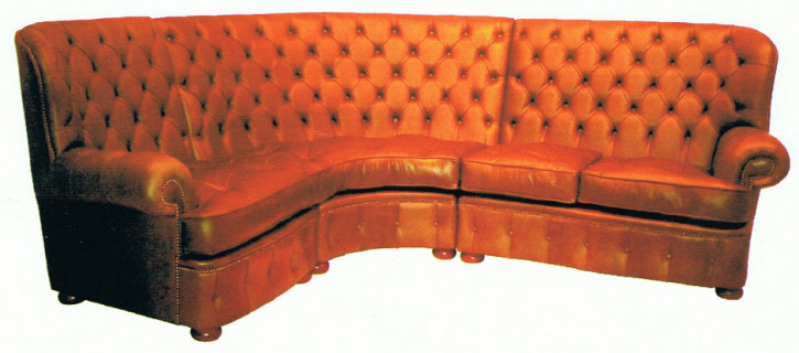 """Balmoral Corner combination"" Chesterfield Sofa"