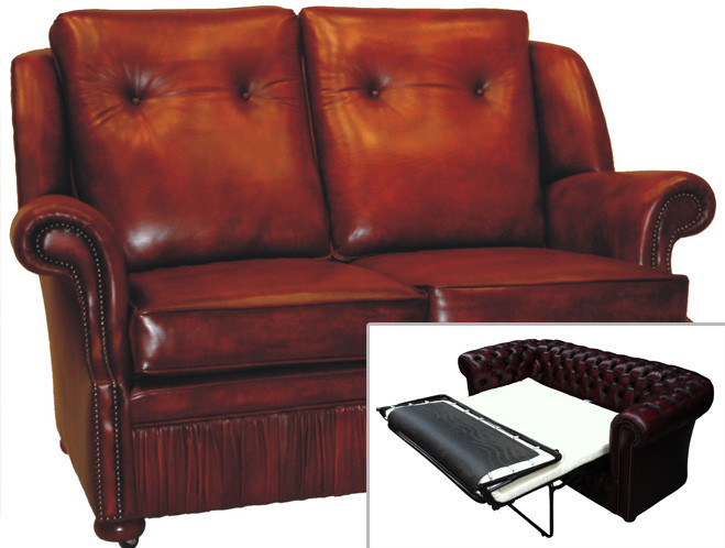 chesterfield schlafsofa cambridge 2 sitzer. Black Bedroom Furniture Sets. Home Design Ideas