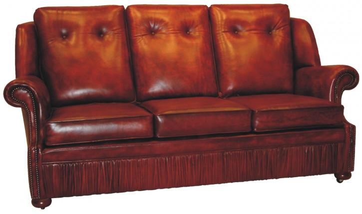 """Original englisches Chesterfield Sofa """"Chichester"""" 3-Sitzer"""