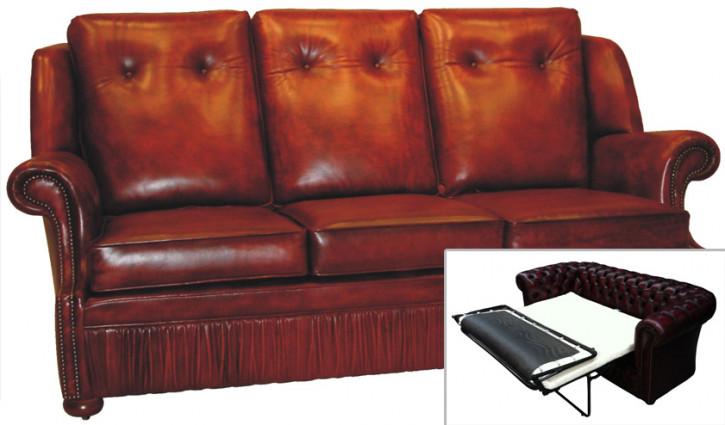 chesterfield schlafsofa leder. Black Bedroom Furniture Sets. Home Design Ideas