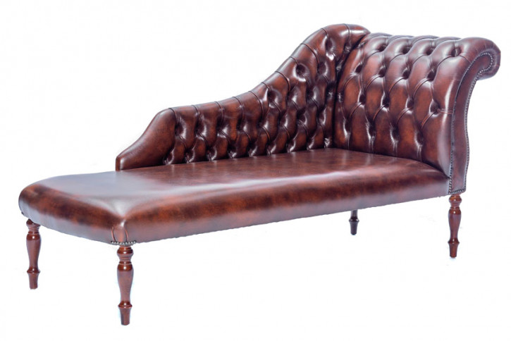"""Chaise Longue"" original Chesterfield classic Rechts"
