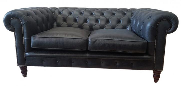 """Ralph "" Chesterfield Sofa 2-Sitzer"