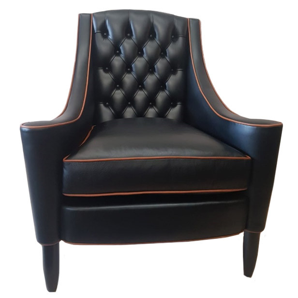 """San Moritz Chair "" Chesterfield Sessel"