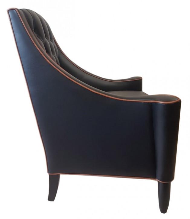 """San Moritz Chair "" Chesterfield Sessel"