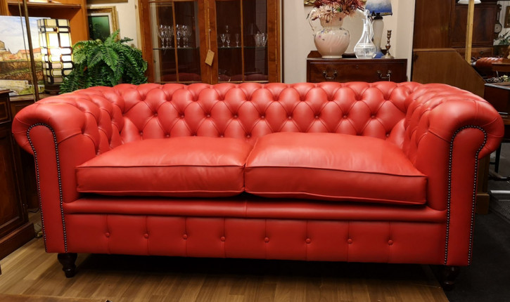 """Hove"" Original Chesterfield Sofa 3-Sitzer"
