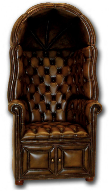 """Hall Porters Chair"" Chesterfield Sessel"